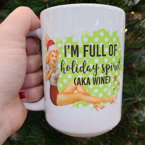 Full of Holiday Spirit