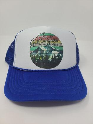 Unisex Trucker Hat-The Mt is calling: Water color