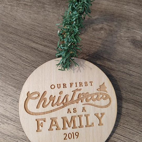 Our first Christmas as a family