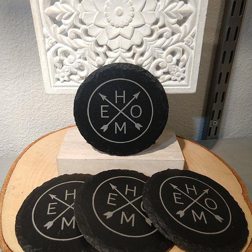 Home Slate Coasters