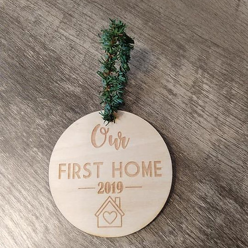 Our First Home