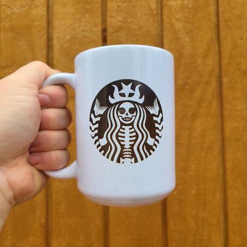 Skeleton Star Warrior Mug