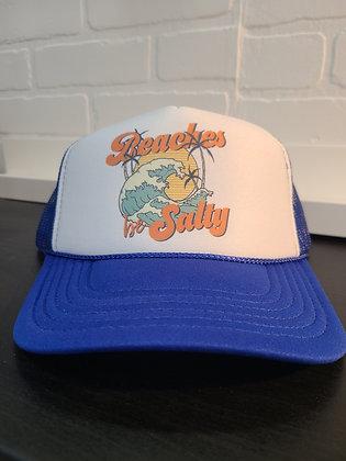 Unisex Trucker Hat-Beaches be Salty