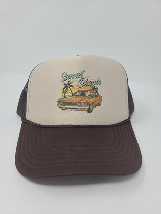 Unisex Trucker Hat- Sunset Chaser