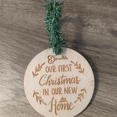 Our first Christmas in our new home