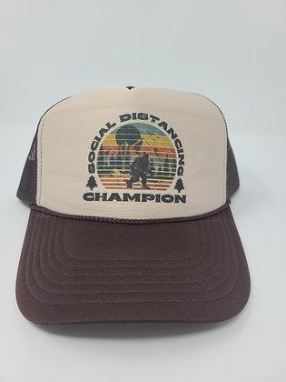 Unisex Trucker Hat- Social Distancing Champion
