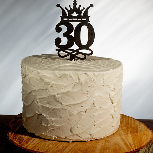 30 Crown Cake Topper