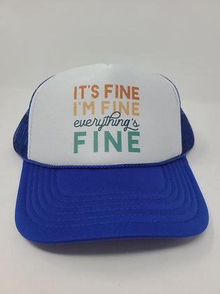 Unisex Trucker Hat-It's Fine