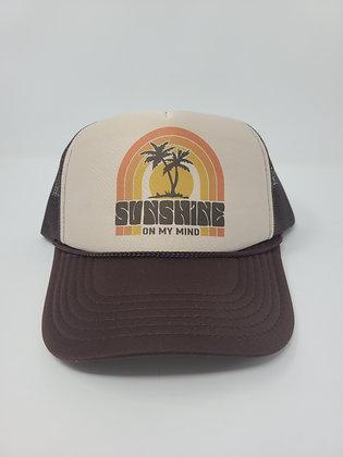 Unisex Trucker Hat-Sunshine on my mind