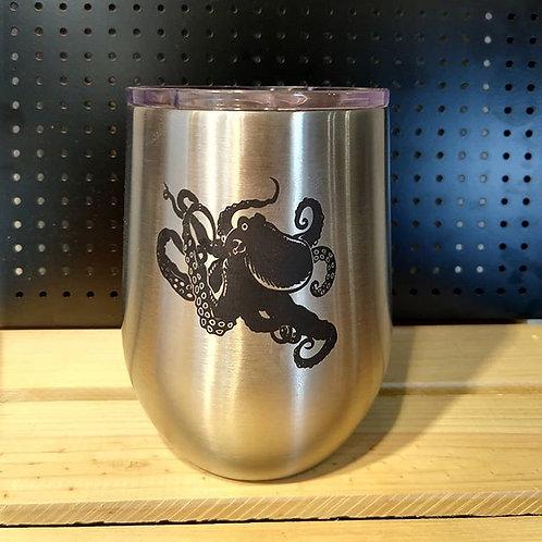 Octopus Wine Tumbler