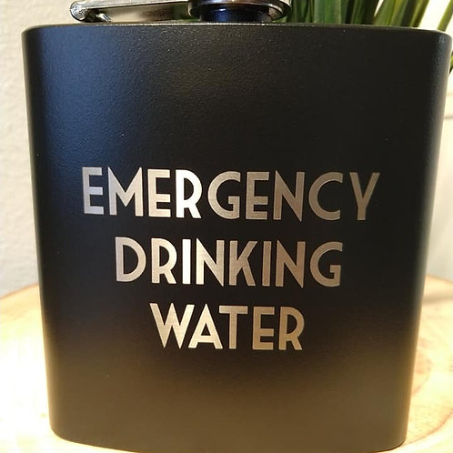 Emergency Drinking Water Flask