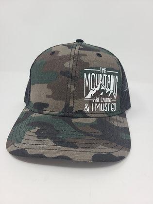 Unisex Trucker Hat- The Mt is calling