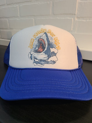 Unisex Trucker Hat-Jaw Ready