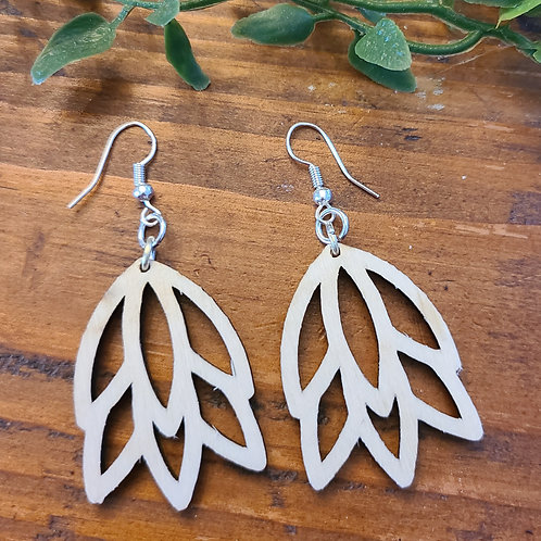 Madison Leaf Earrings