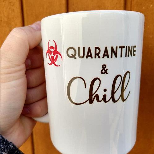 Quaratine & Chill Coffee Mug
