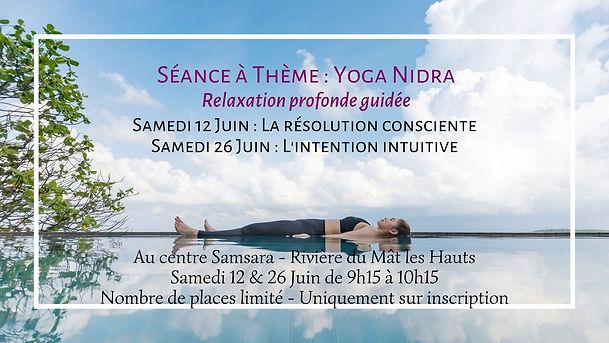 Séance à Thème  Yoga Nidra Relaxation pr