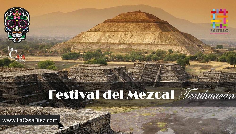 Festival del Mezcal en Teotihuacán