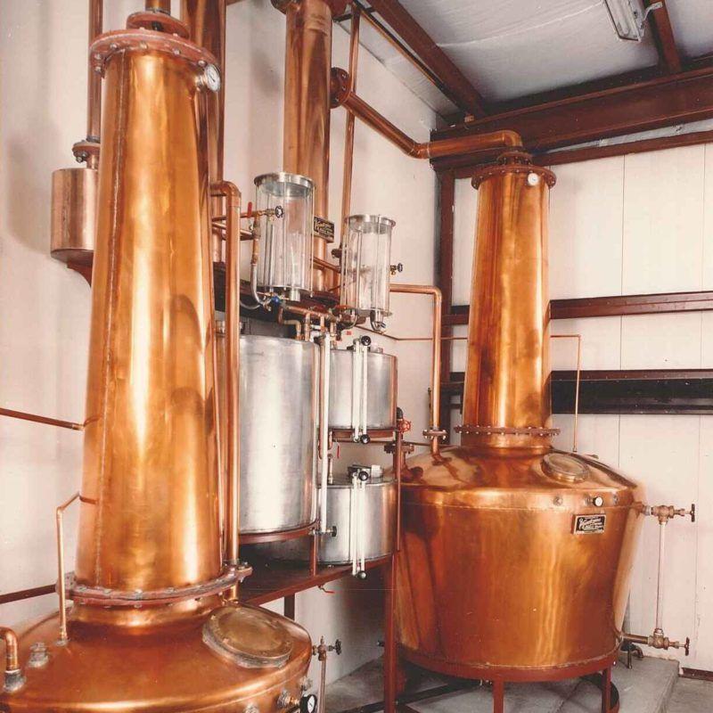 Alambiques de Destilación
