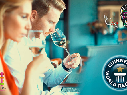 Récord Guinness por la cata de Tequila más grande del Mundo.