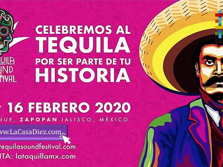 TEQUILA SOUND FESTIVAL 2020 ya tiene fecha y se esperan grandes Artistas.