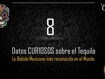 8 datos curiosos que tal vez no sabías sobre el Tequila.