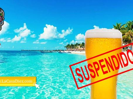 BEBIDAS ALCOHÓLICAS DESTILADAS y Cervezas son suspendidas por COVID-19
