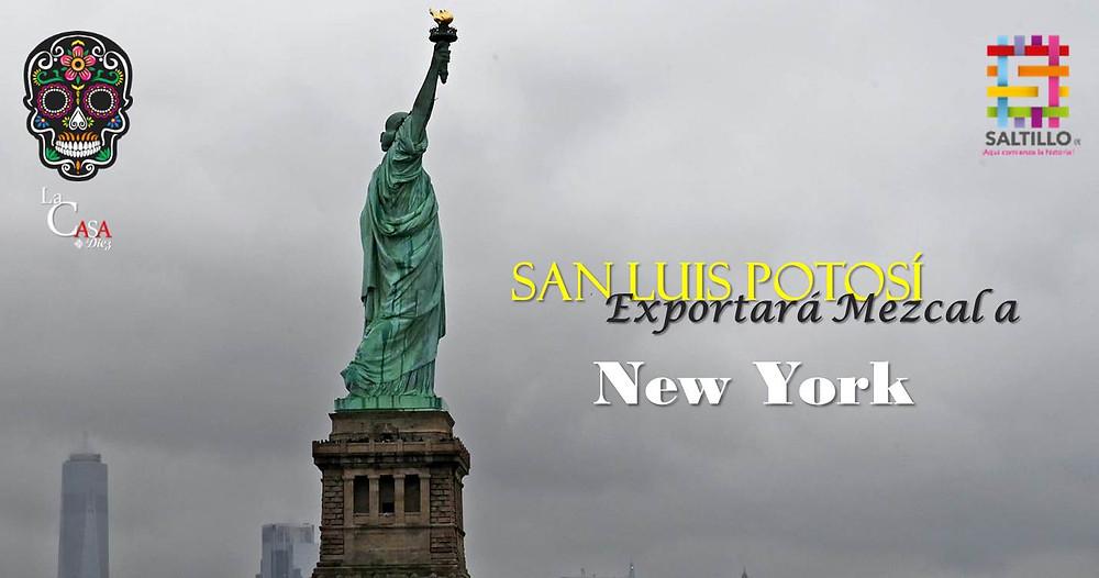 San Luis Potosí exportará Mezcal a New York