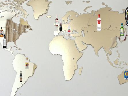 Las Bebidas y Destilados que representan a cada país.
