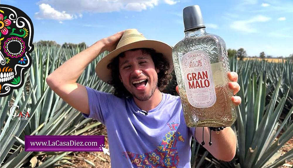 Tequila Gran Malo sabor Tamarindo del Youtuber Luisito Comunica