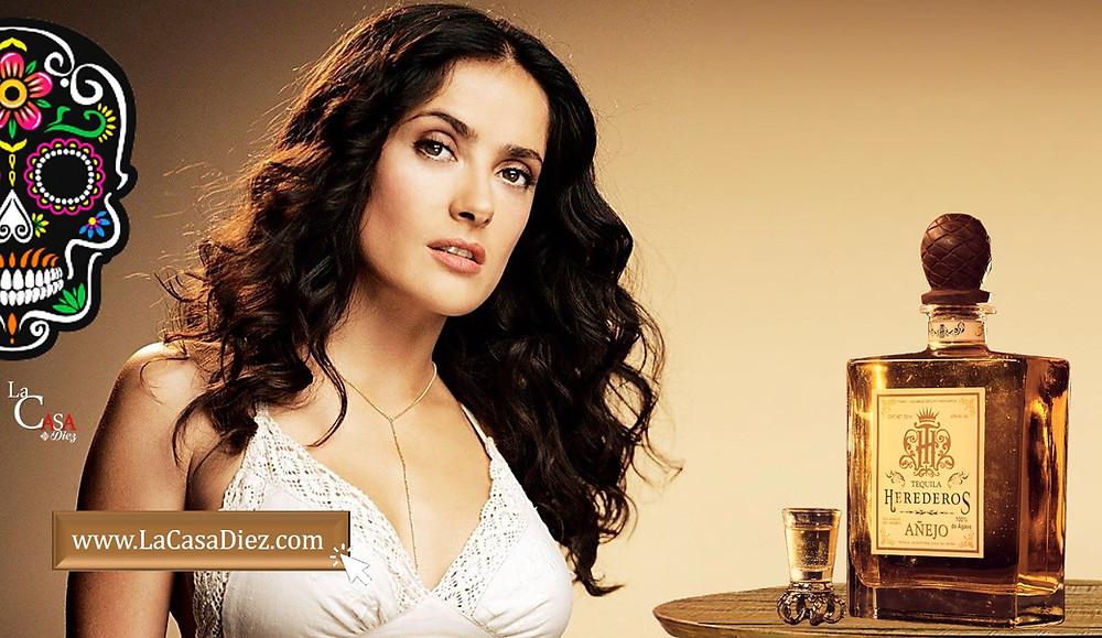Tequila Herederos de Salma Hayek