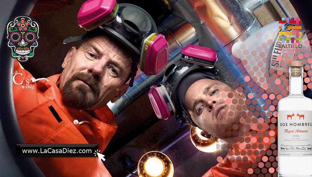 Mezcal Dos Hombres de Jesse Y Walter de Breaking Bad