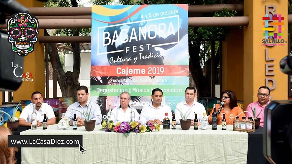 Bacanora Fest 2019 en Cajeme, Sonora.