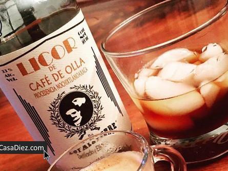 LICOR DE CAFE DE OLLA, el Clásico Café con Piquete.