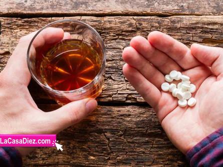 ALCOHOL Y MEDICAMENTOS, una combinación muy peligrosa.