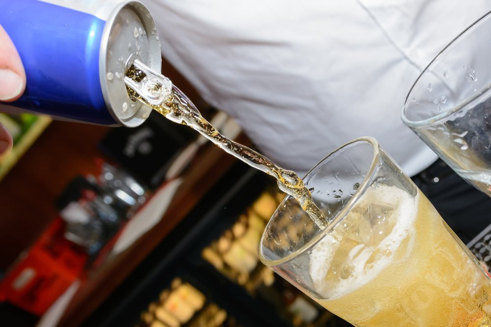 Bebida energetica + Alcohol