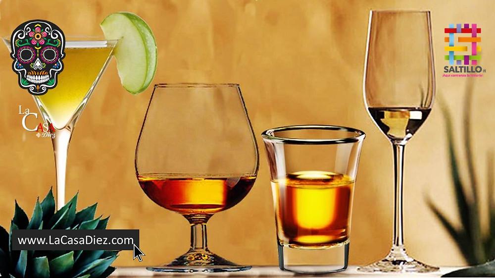 Tipos de Copas para el Vino y Destilados