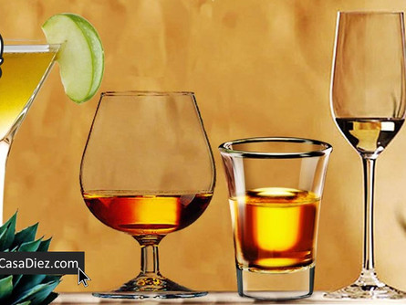 💀 Tipos de Copas para Vinos y Destilados
