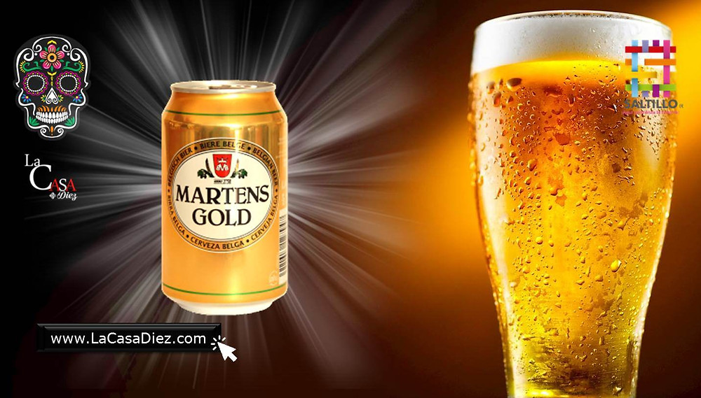 Cerveza Martens Gold y Light