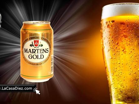 CERVEZA MARTENS Gold y Light, una Cerveza Belga con sabor único.