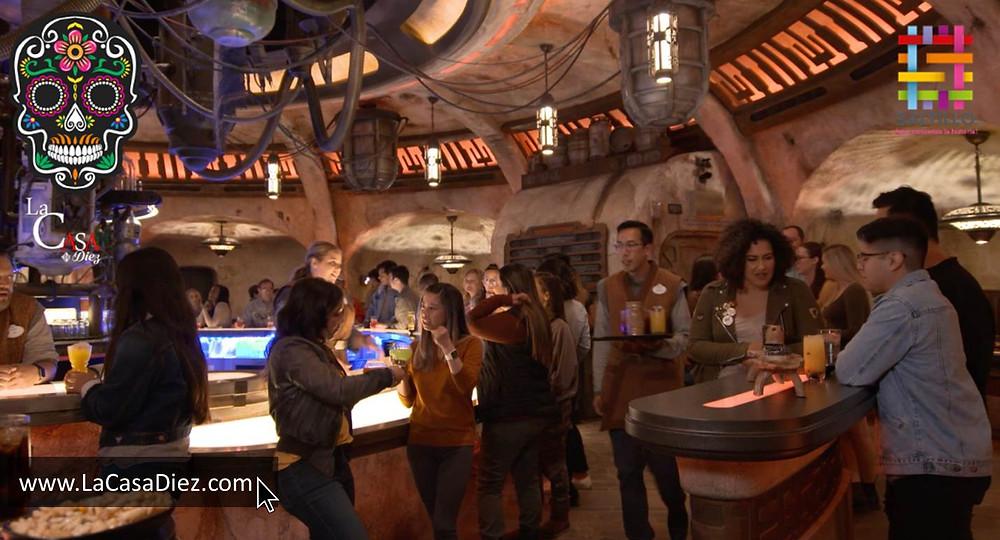Oga's Cantina Disneyland Star Wars