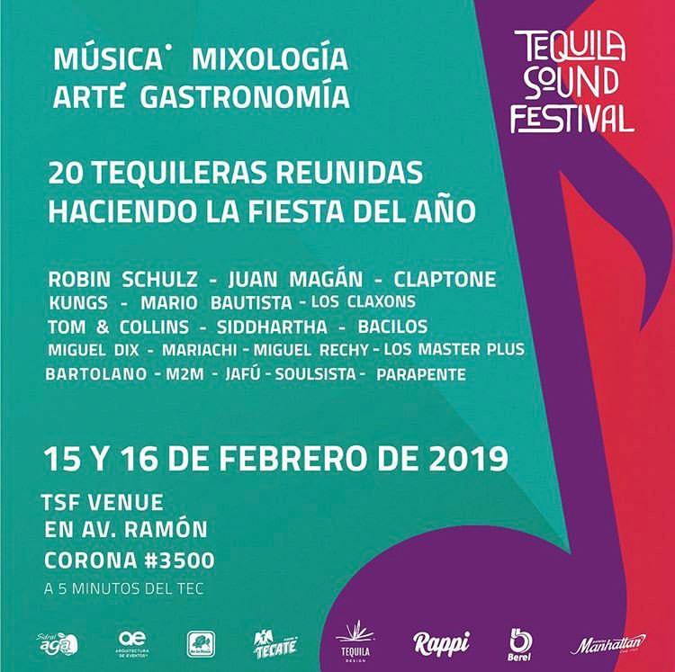 Cartelera Tequila Sound Festival
