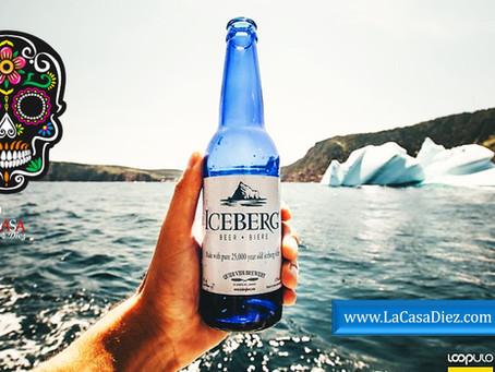 ICEBERG BEER, una Cerveza elaborada con Iceberg de más de 20 mil años.
