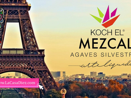 KOCH EL MEZCAL DE OAXACA, viajará a Paris por Velero.