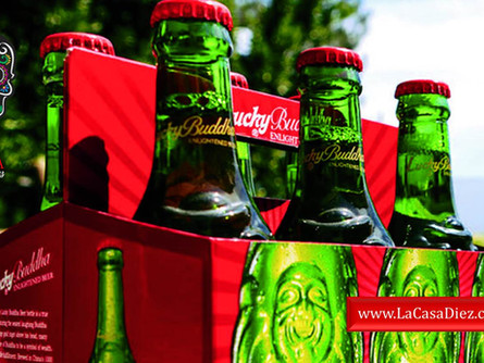 CERVEZA LUCKY BUDDHA, una Cerveza Clara Importada de China.