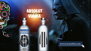 Absolut Vodka y Star Wars en una botella Edición Especial