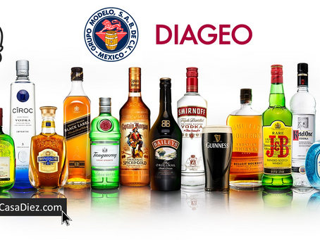 DIAGEO y Grupo Modelo unen fuerzas para aumentar su producción.