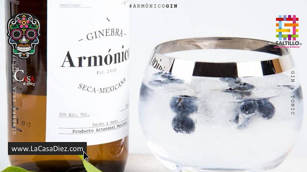 Gin Armónico Ginebra Mexicana