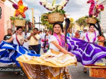 La Guelaguetza y las Empresas Mezcaleras en Oaxaca.