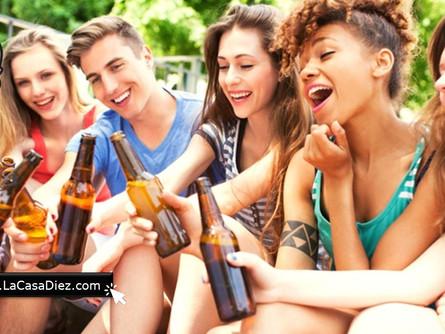 Información sobre el alcoholismo en Menores de Edad.