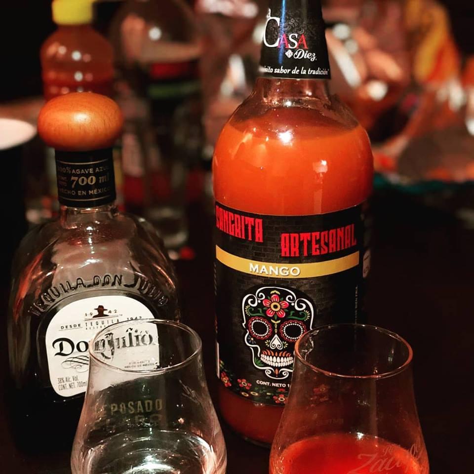 Sangrita Artesanal con Tequila